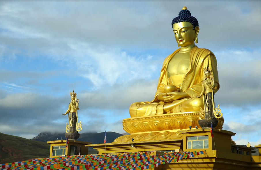 Buddha Calling - Ashoka Stupa in Nangchen - Bindu Gopal ...